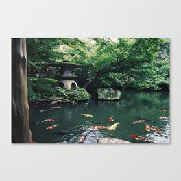 Happoen Garden Canvas Print