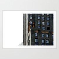 City Sky Art Print