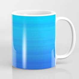Blue Sea Stripes Coffee Mug