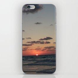 Sunset Northern coast egypt 2 iPhone Skin