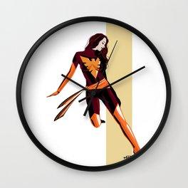 Phoenix (Jean Grey) Wall Clock
