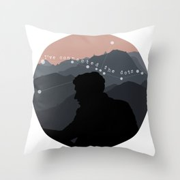 """Ive connected the dots"" Shane Madej Graphic Throw Pillow"