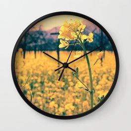 Bye-bye Winter, Hello Spring! Wall Clock