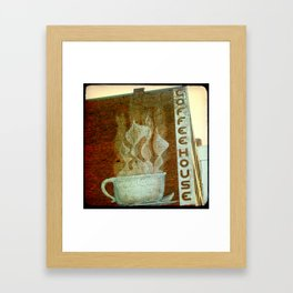 Knoxville Coffeehouse TTV Framed Art Print