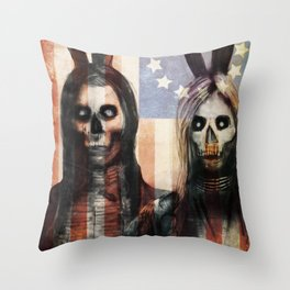 13 Colonies  Throw Pillow