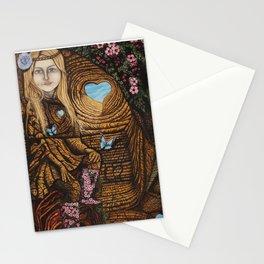 Regarde moi et l'amour suivra Stationery Cards