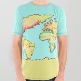 Olde World Shirt All Over Graphic Tee