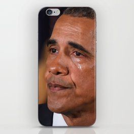 Angry Tears iPhone Skin