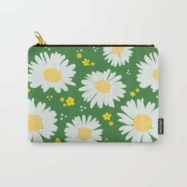 Spring Dream Daisies Carry-All Pouch
