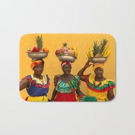 Cartagena Fruit Vendors Bath Mat