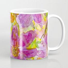 Watercolor Wildflowers Coffee Mug