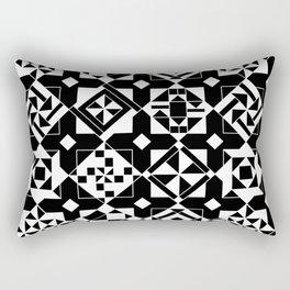 Quilt Squares Rectangular Pillow