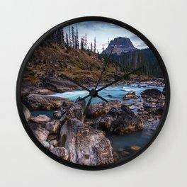 Yoho National Park, Canada Wall Clock
