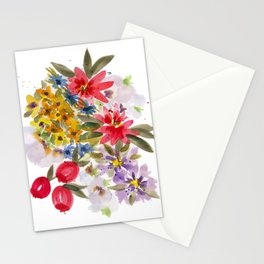 Farmers Market Bouquet 1 Stationery Cards