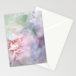 peony love N°4 Stationery Cards