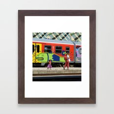 futures unknown. Framed Art Print