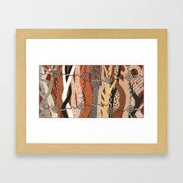 Abstract_In_Trees#18_GeoffSellman Framed Art Print