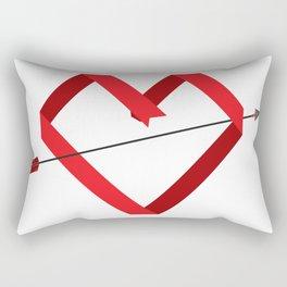 Paper Love _ pure Rectangular Pillow