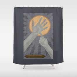 Dandelions - (Artifact Series) Shower Curtain