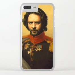 Russell Crowe - replaceface Clear iPhone Case