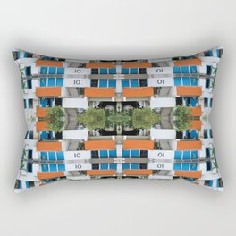 Cuban Eco Village Rectangular Pillow