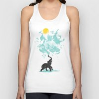 splash Tank Tops featuring summer splash by Steven Toang