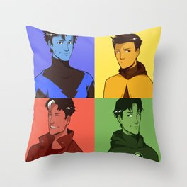 ROBINS Throw Pillow