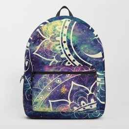 Om Mandala : Deep Pastels Galaxy Backpack