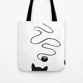 Playful Cat Tote Bag