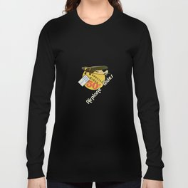 airplane rides-fifty cents Long Sleeve T-shirt