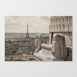 Watching Over Paris Canvas Print