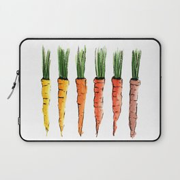 Happy colorful carrots Laptop Sleeve