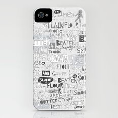 A recipe for gingerbread. iPhone (4, 4s) Slim Case