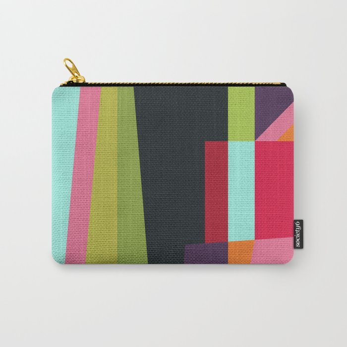 Geometric#28 Carry-All Pouch