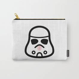 Minimal Stormtrooper (Tongue Out) Carry-All Pouch