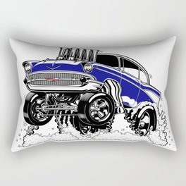 57 Gasser REV-3 BLUE Rectangular Pillow