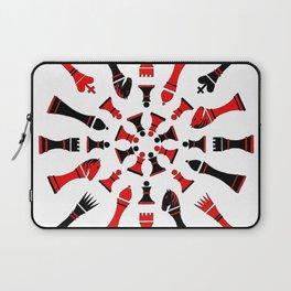 Red/Black Chessmen Laptop Sleeve