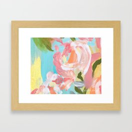 Floral 18 Framed Art Print