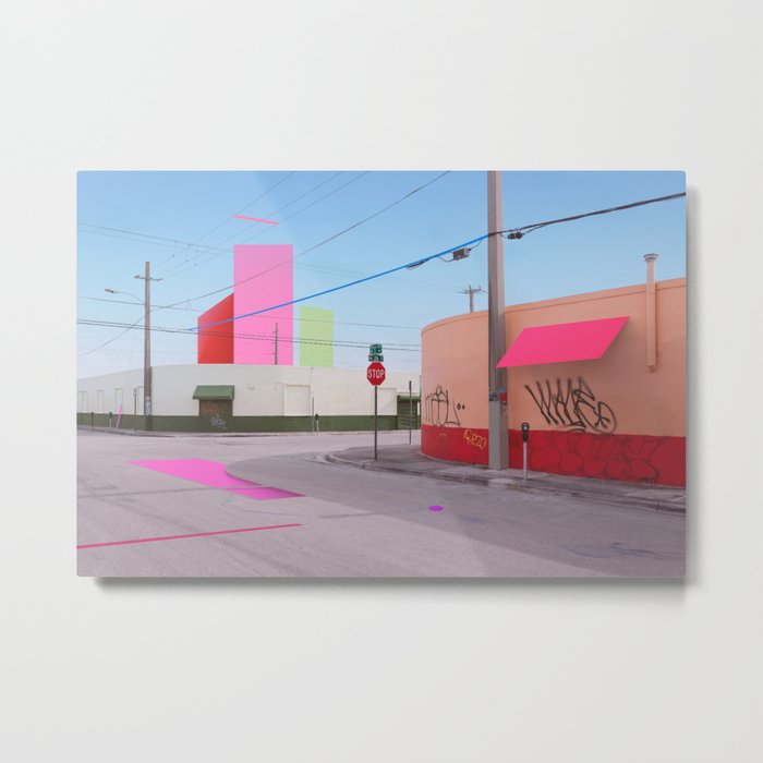 Constructed S2 Metal Print