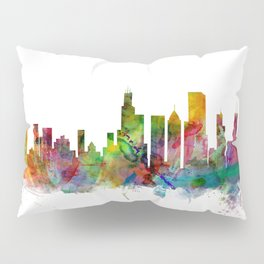 Chicago Illinois Skyline Pillow Sham