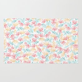 Coral Reef Branches Rug