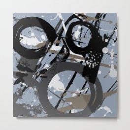 Enso Groove E by Kathy Morton Stanion Metal Print