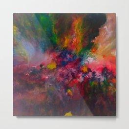 Storm of Colours Metal Print