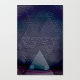 illuminate me purple Canvas Print