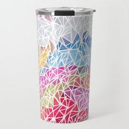 Coloured Mountains Travel Mug