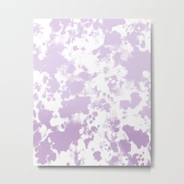 Painted abstract minimal ombre painting charlotte winter canvas art Metal Print