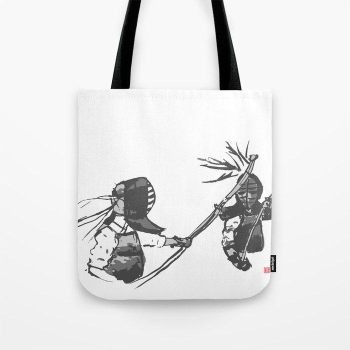 Naginata Sumi-E by Takemi Tote Bag