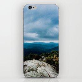 Blue Ridge Mountain Song iPhone Skin
