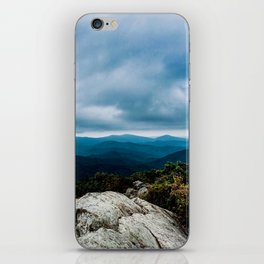 Blue Ridge Mountain Song iPhone Skin