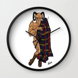 Fyarl Demon Giles Pin up Wall Clock